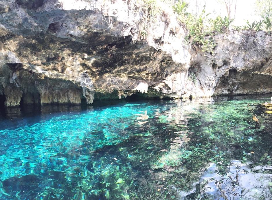 "Gran Cenote - also known as the ""beginner's Cenote"""